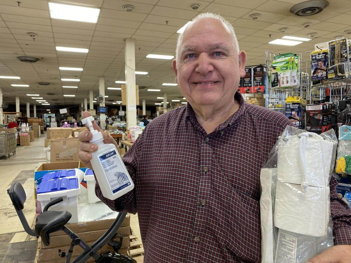 One place in Martinsville has plenty of hand sanitizer – but does it work?
