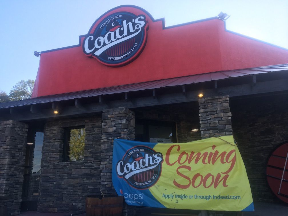 Coach's restaurant plans to open this week in Martinsville