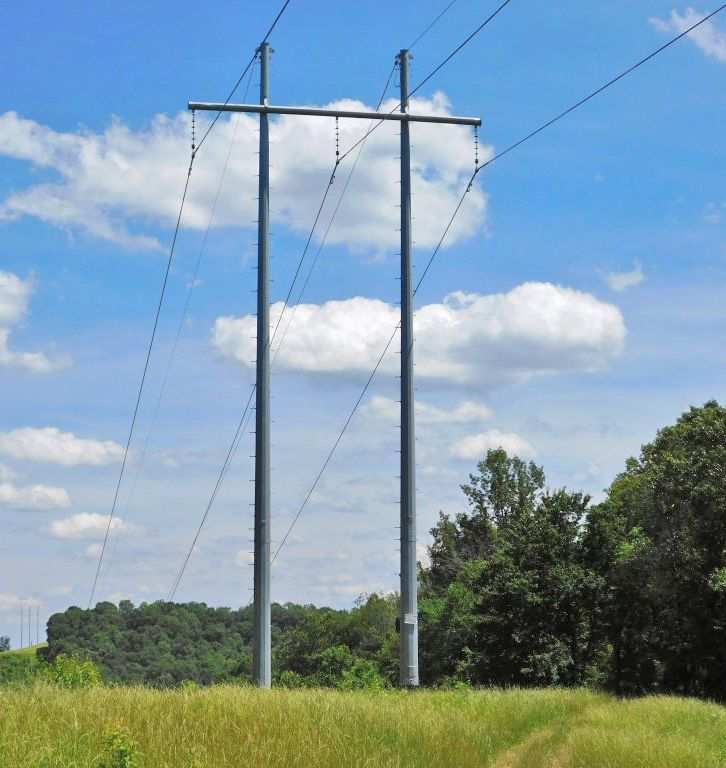 Appalachian Power to make big replacement of power line, poles near Ridgeway and Fieldale