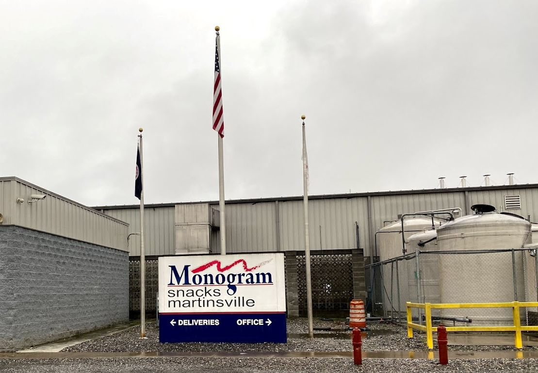 Two men indicted on charges that one urinated on food product at plant in Martinsville while the other shot video.