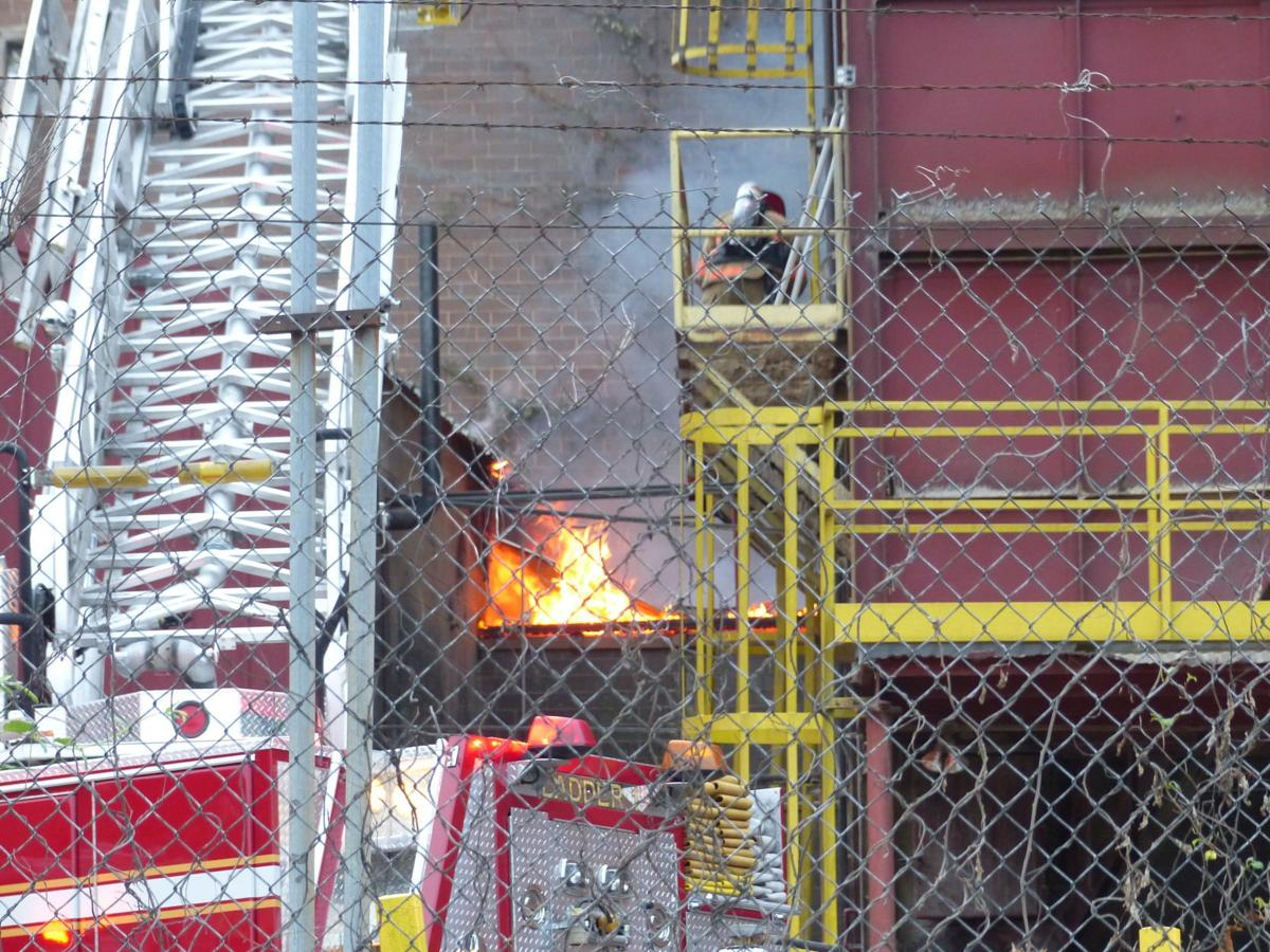 Fire at Southern Finishing in Martinsville