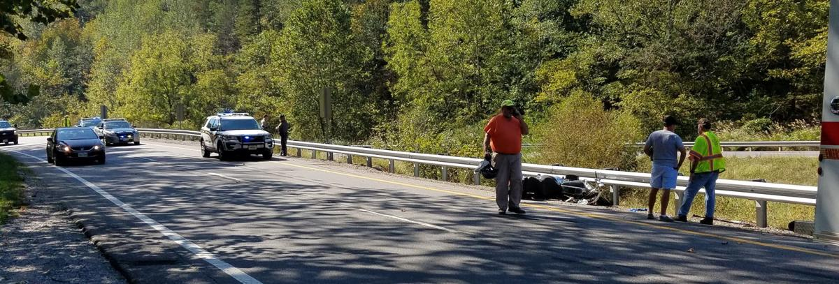 Driver injured in motorcycle accident on U.S. 220 north near Martinsville